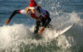 Surfing Santa Ritz Carlton