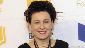 The Polish writer/activist Olga Tokarczuk, winner of the 2019 Nobel prize for literature.