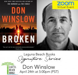 Laguna Beach Books Virtual Author Event