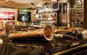 Bayside Restaurant saxophone
